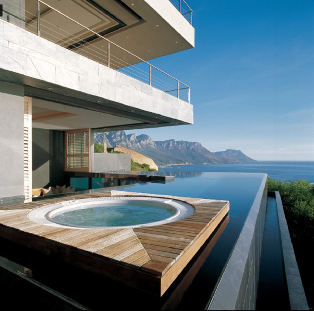 Beautiful exteriors swimming pools for love of fashion for Swimming pools for homes
