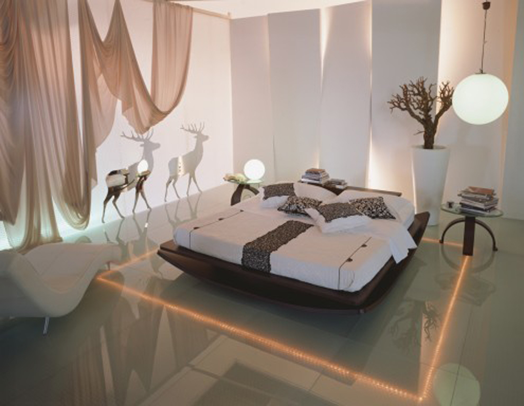 Beautiful lighting ideas interior interior decorating for Beautiful bedroom interior