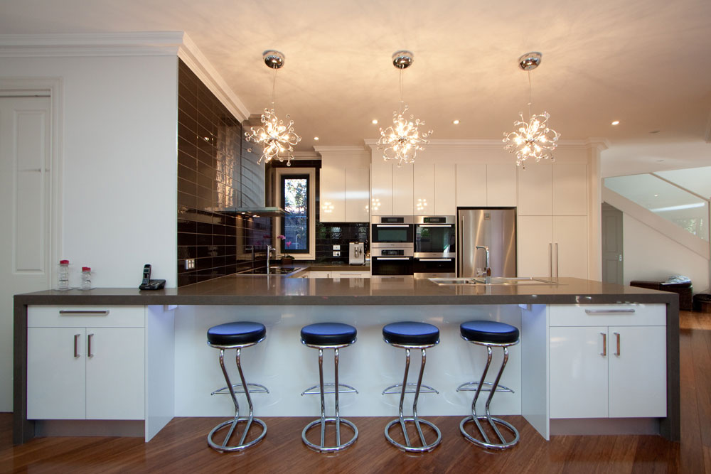 Beautiful interiors lighting design for love of fashion for Kitchen lighting design